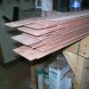 Veneer pieces to be used