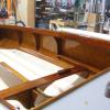 Interior after 9 coats of varnish